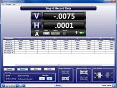 Step 4: Record Data - S-1403 Bore9 Software